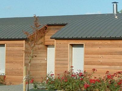 maisons à ossature bois gîtes en sud loire